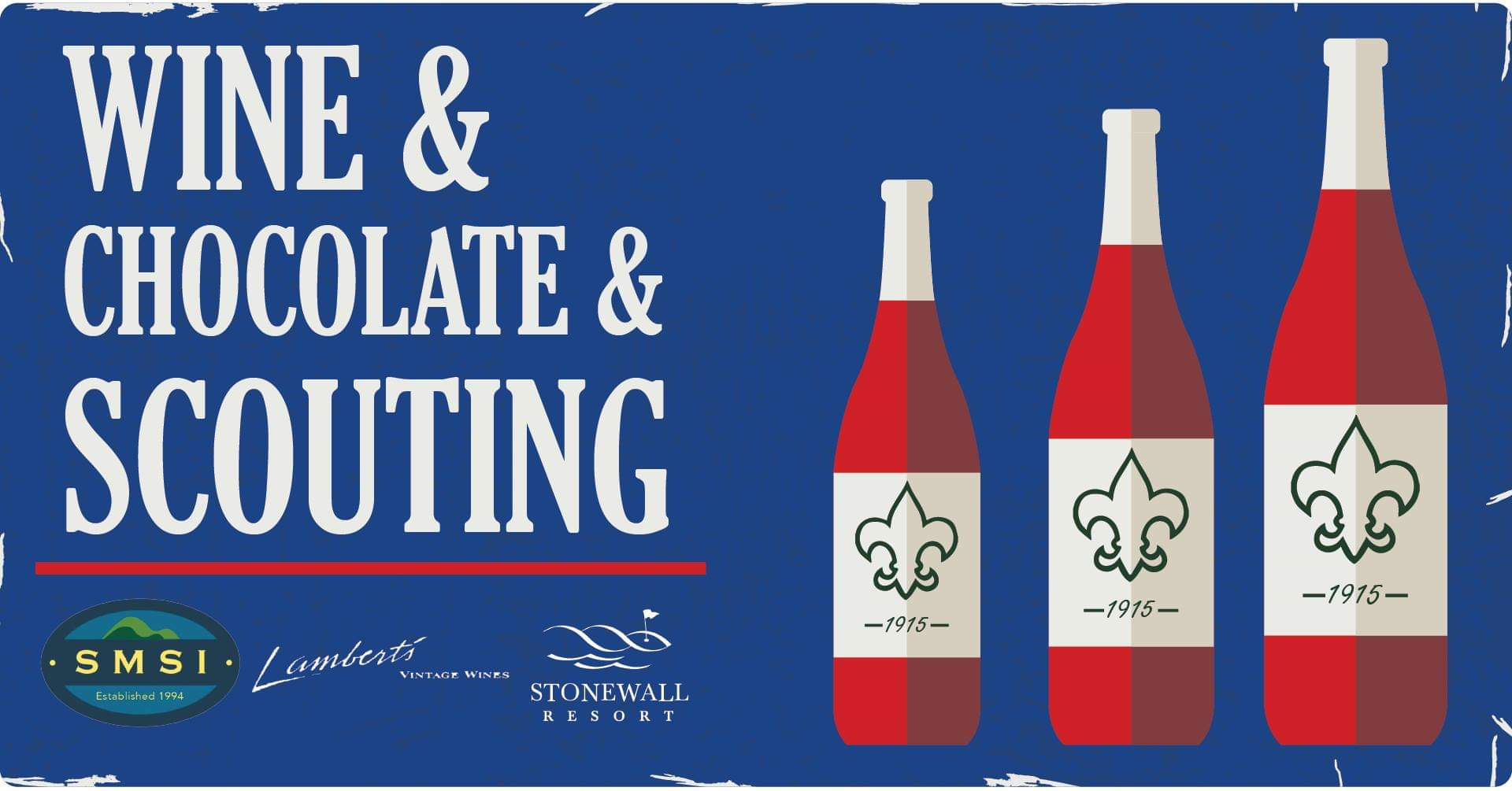 Wine & Chocolate & Scouting
